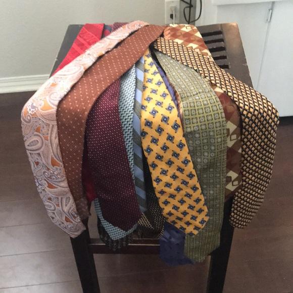 19 very nice neck ties!